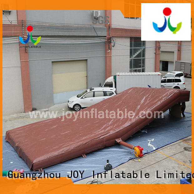 JOY inflatable mountain stunt air bags directly sale for children