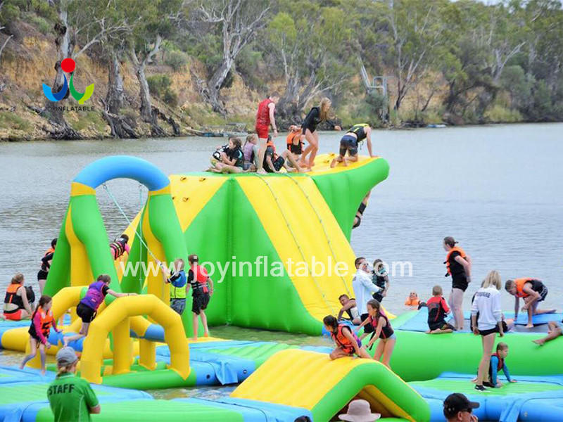 JOY inflatable floating playground design for kids-2