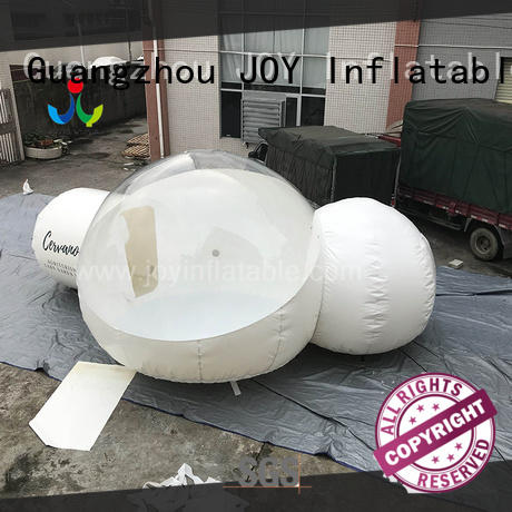 JOY inflatable skiing clear bubble tent for sale supplier for children