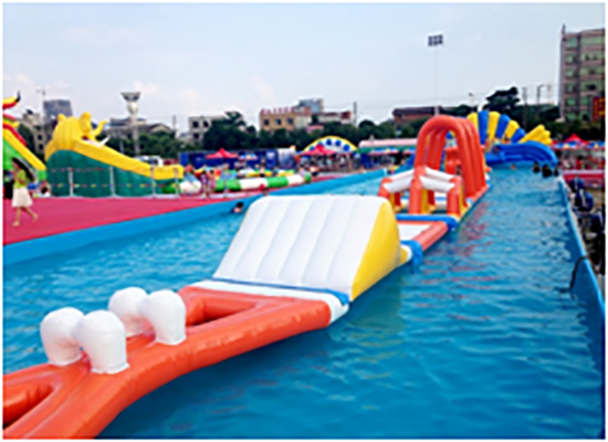 aqua floating playground inquire now for kids-2