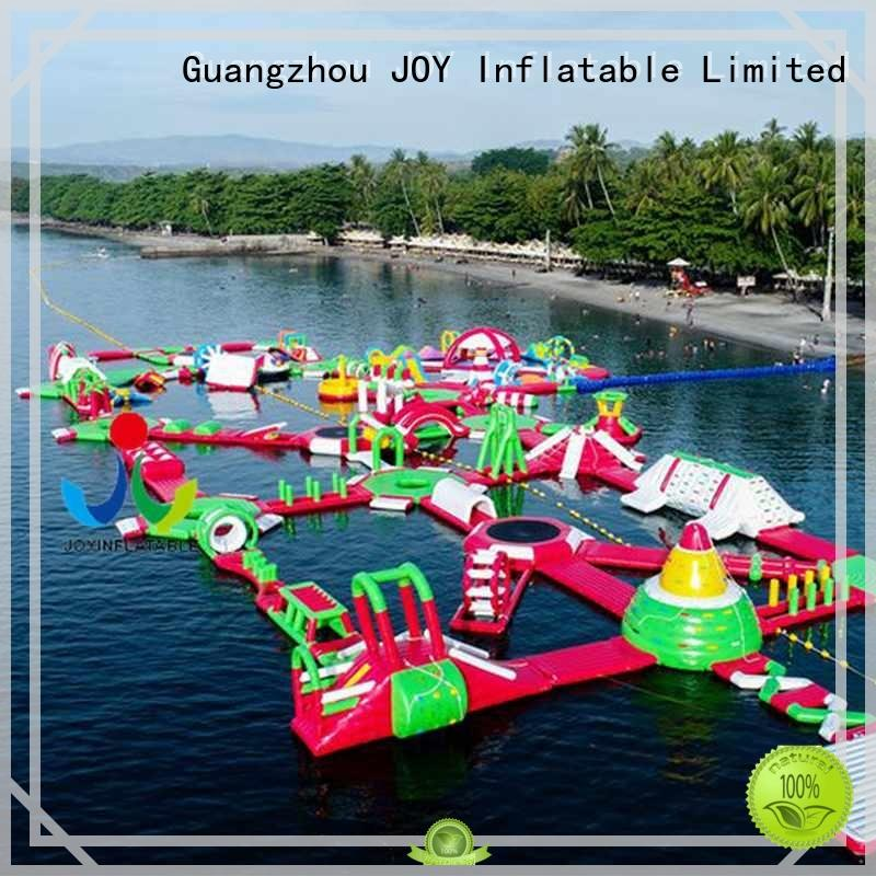Hot hot sale floating water park inflatable island JOY inflatable Brand