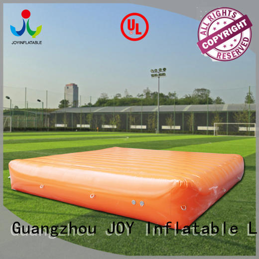 JOY inflatable fall big air bag price customized for outdoor