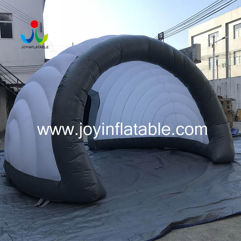 Geodesic Inflatable Igloo Tents For Display-1