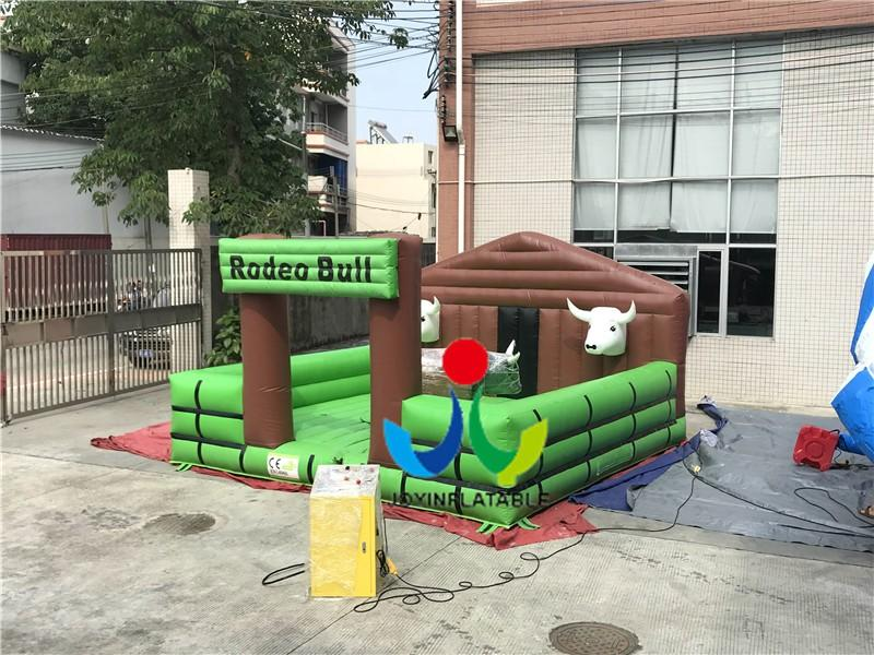 JOY inflatable mobile mechanical bull riding from China for kids-2