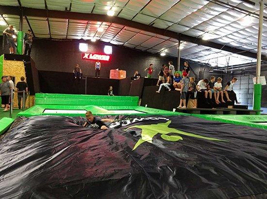 customization bag jump cushion trampoline