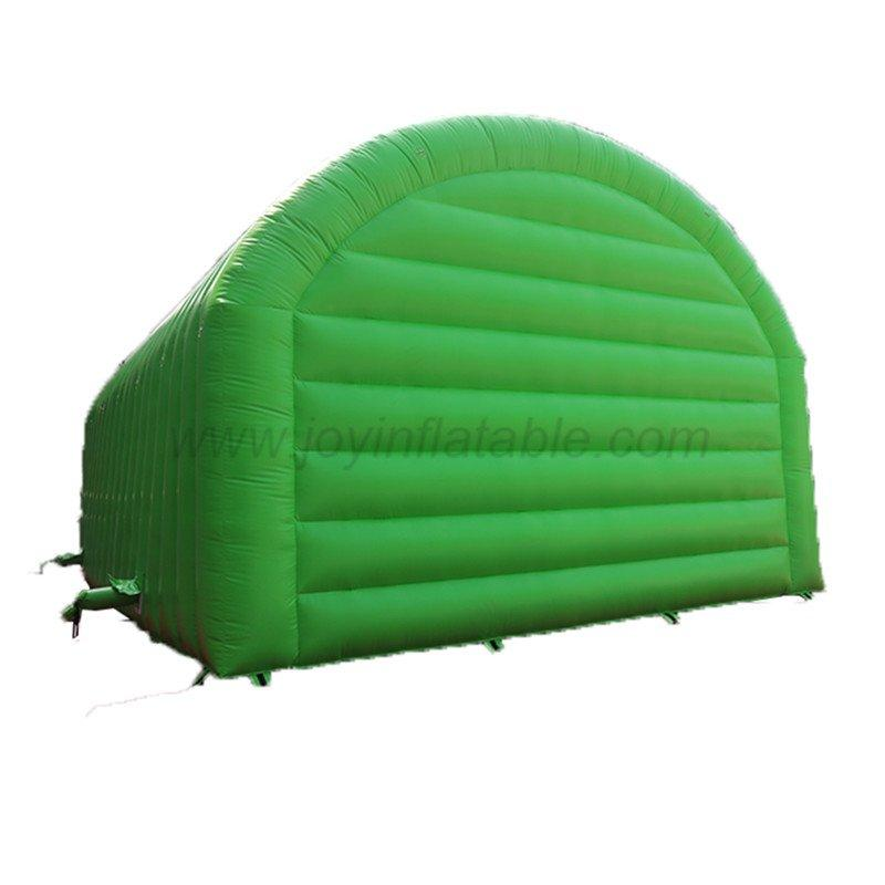 11*7*5 M Waterproof Green Inflatable Giant Tunnel Tent