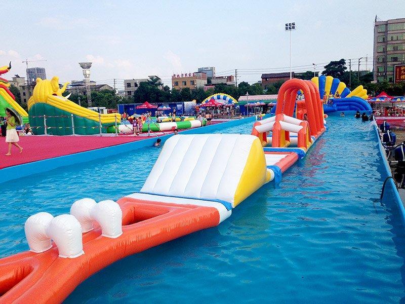 Jumbo Inflatable Floating Water Slide