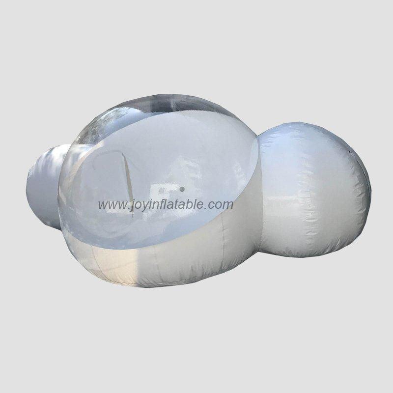 large bubble tent personalized for outdoor