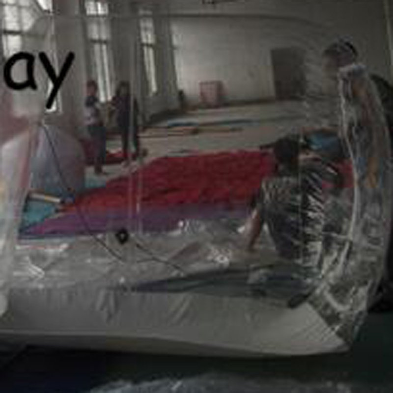 JOY inflatable slides clear inflatable bubble tent for children-15