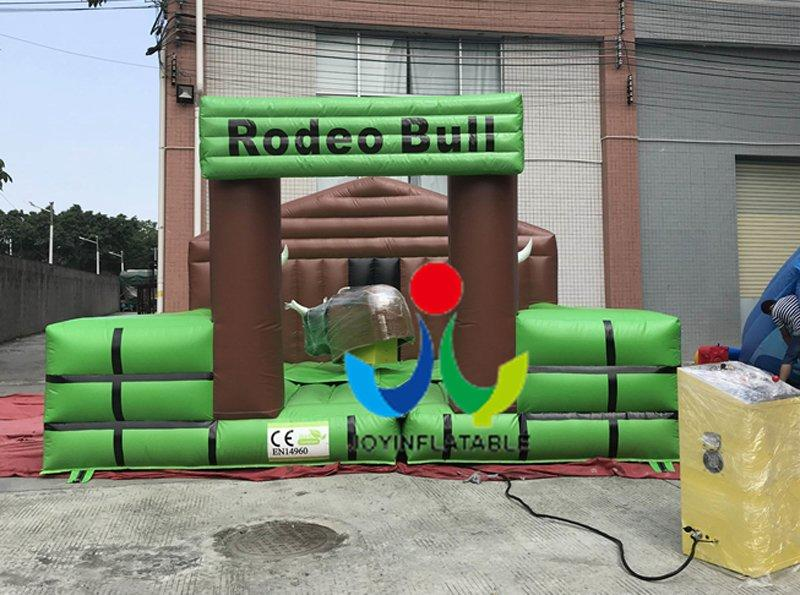 Dia5M Inflatable mechanical bull riding, inflatable mechanical bull ride, machine bull with mat