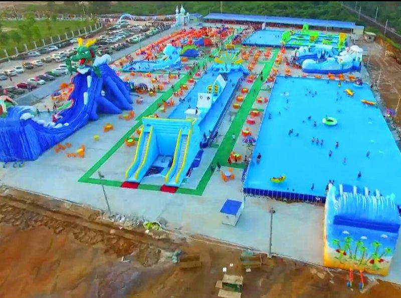 Giant inflatable water park from Guangzhou joy inflatable limited
