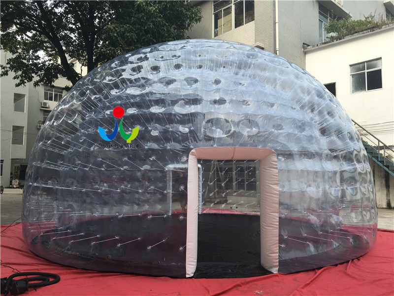 0.8mm Clear PVC Inflatable IglooTent For Outdoor Event-10