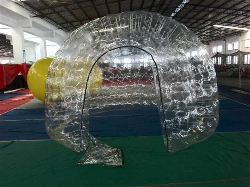 Clear PVC Inflatable LED Light Event Tent-11