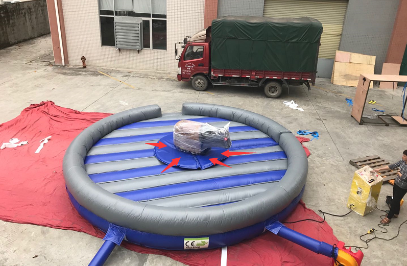 JOY inflatable mobile mechanical bull riding from China for kids-10
