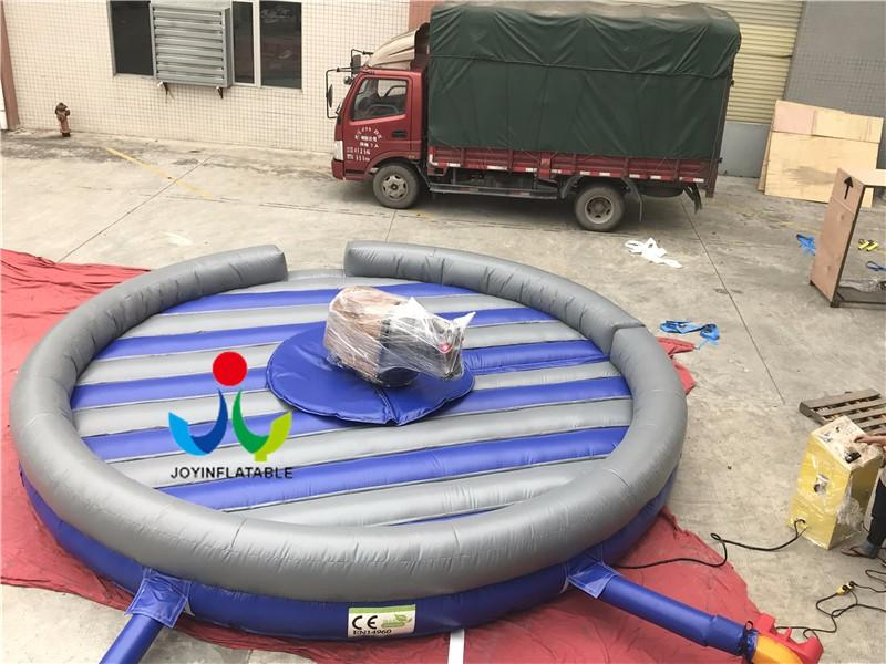 courtsoccer inflatable mechanical bull round for outdoor JOY inflatable