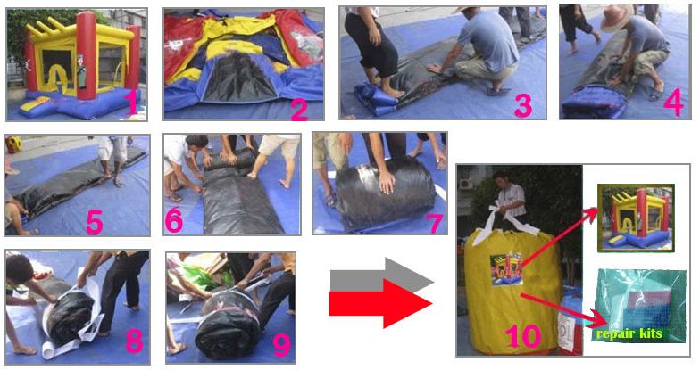 blow up slip and slide manufacturer for children JOY inflatable-13