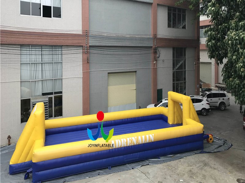 inflatable football field sports game