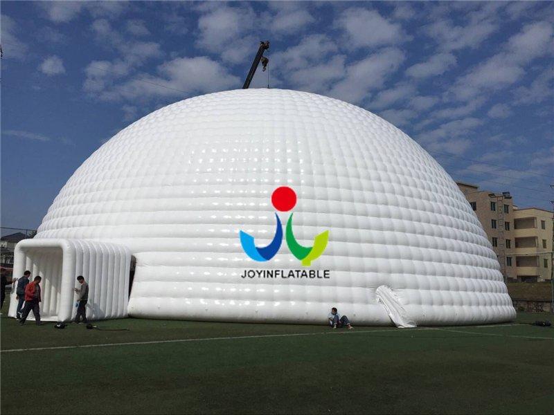30 Meters Diameter  Inflatable Geodesic Dome Tent Video