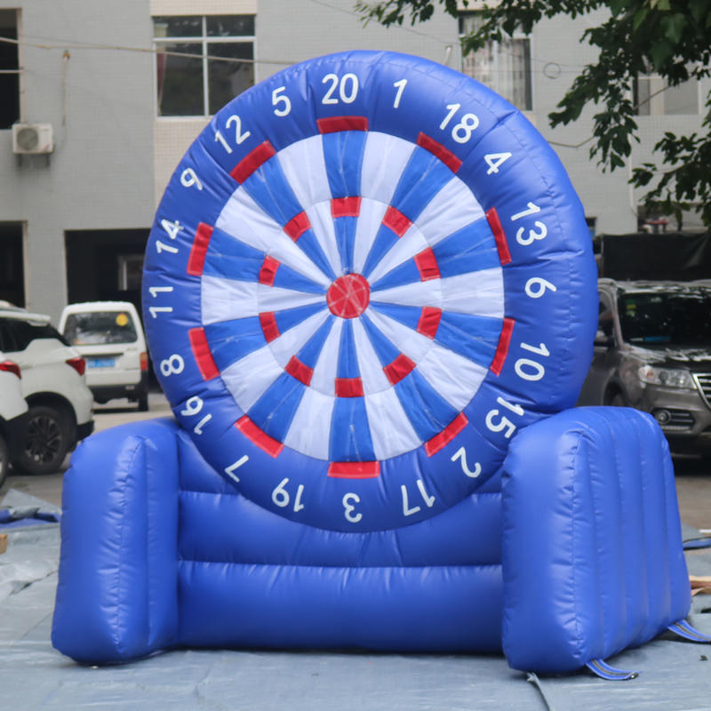 Soccer Foot Dart Board Inflatable Dart Game