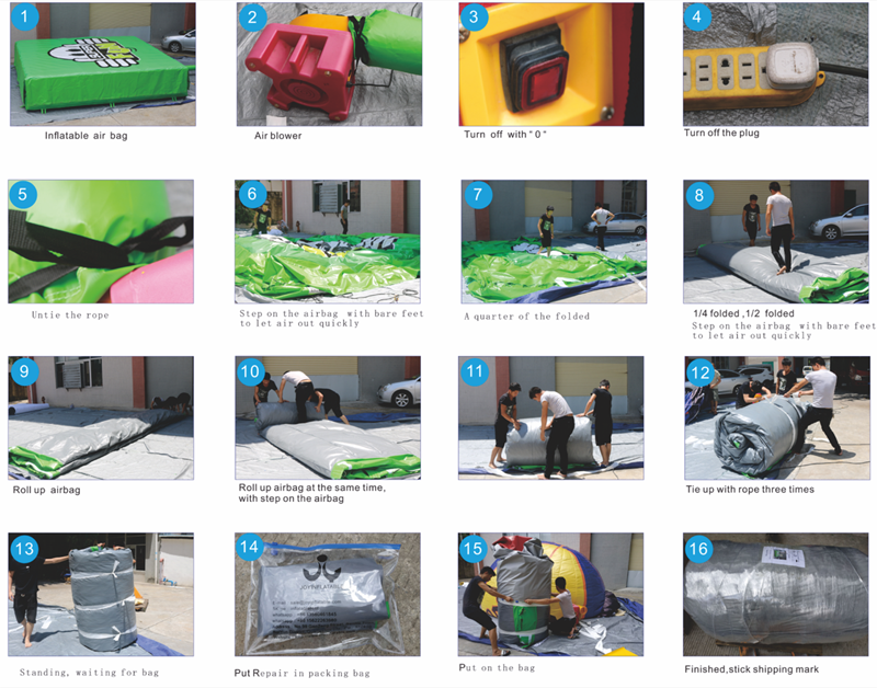 inflatable crash pad for children JOY inflatable
