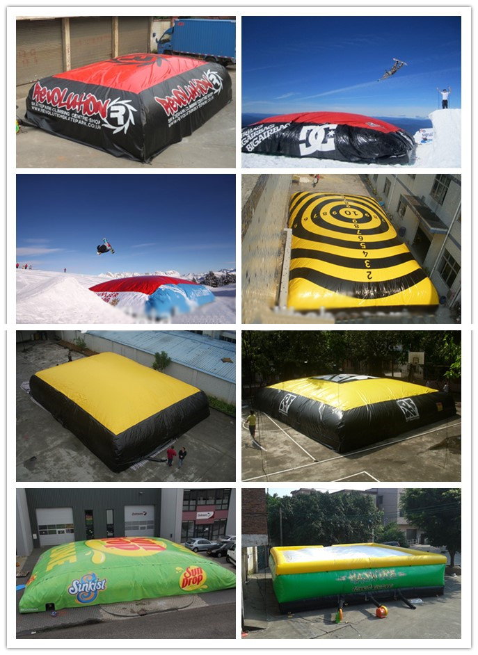 event stunt airbag series for child