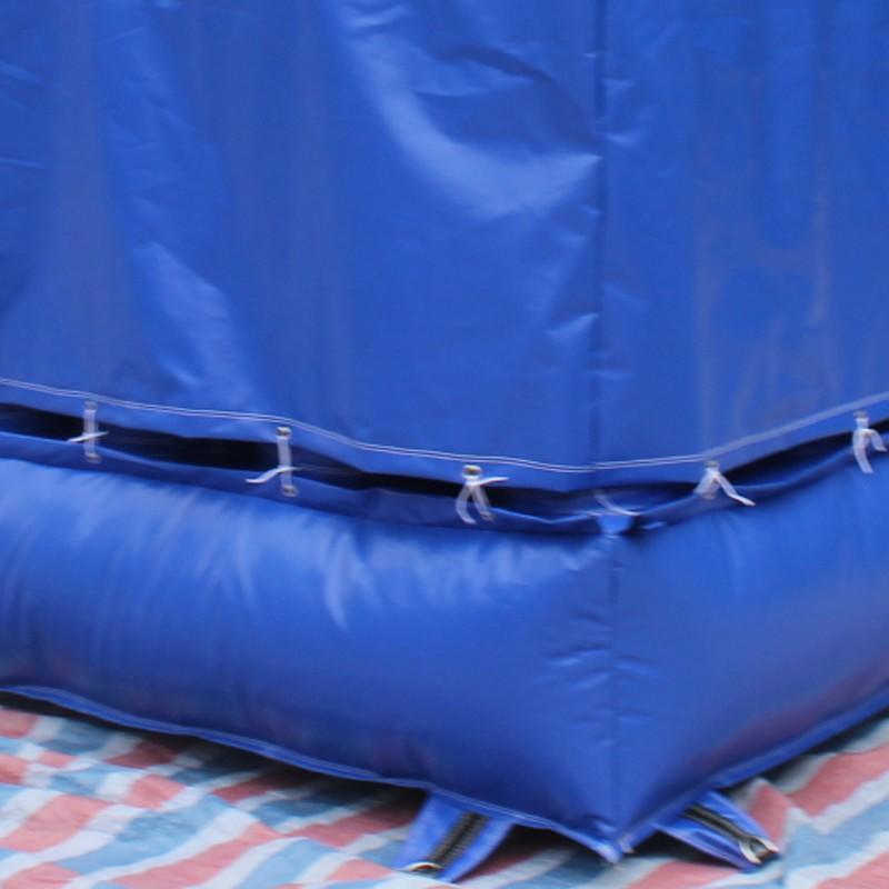 JOY inflatable bikeski foam pit airbag directly sale for child