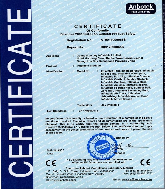 JOY inflatable mats airbag jump manufacturer for outdoor-9