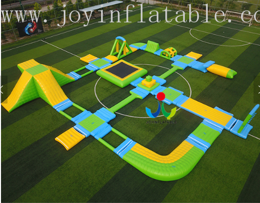 JOY inflatable floating water park inquire now for children