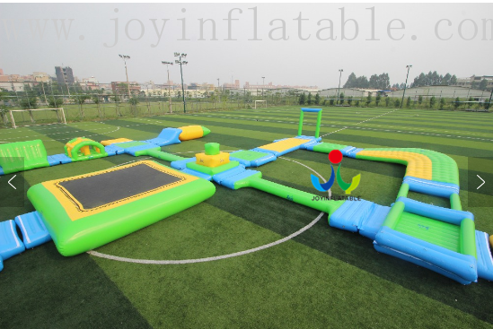JOY inflatable floating water park inquire now for children-6