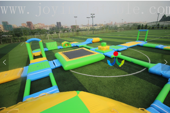 JOY inflatable floating water park inquire now for children-7
