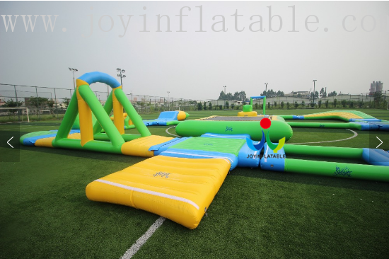 JOY inflatable floating water park inquire now for children-8