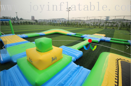 JOY inflatable floating water park inquire now for children-9