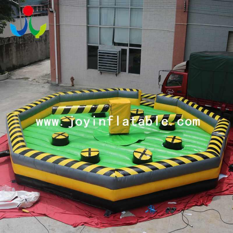Inflatable Meltdown Game Wipe out Obstacle Course