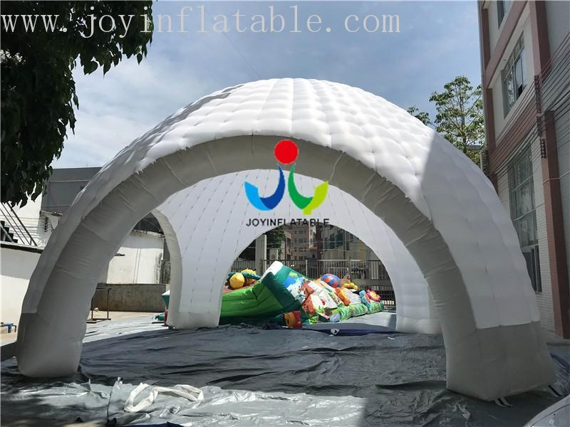 led 10 event top selling blow up igloo JOY inflatable