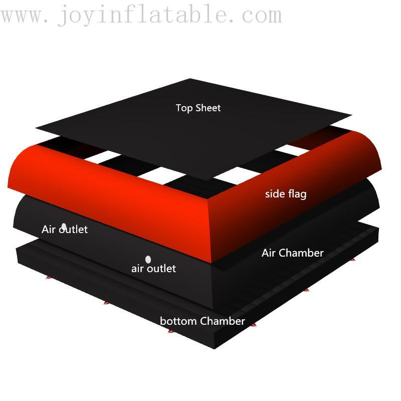 air bag foam pit airbag series for children