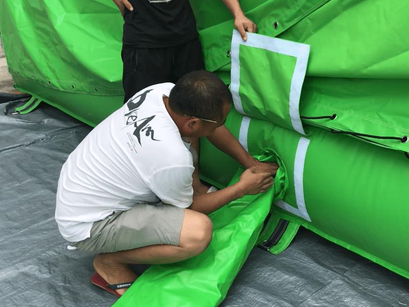 JOY inflatable irregular bag jump manufacturer for children-13