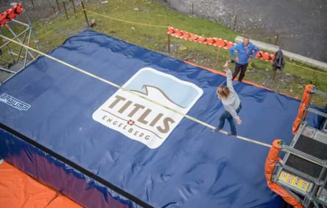 JOY inflatable challenge inflatable stunt mat manufacturer for outdoor-2
