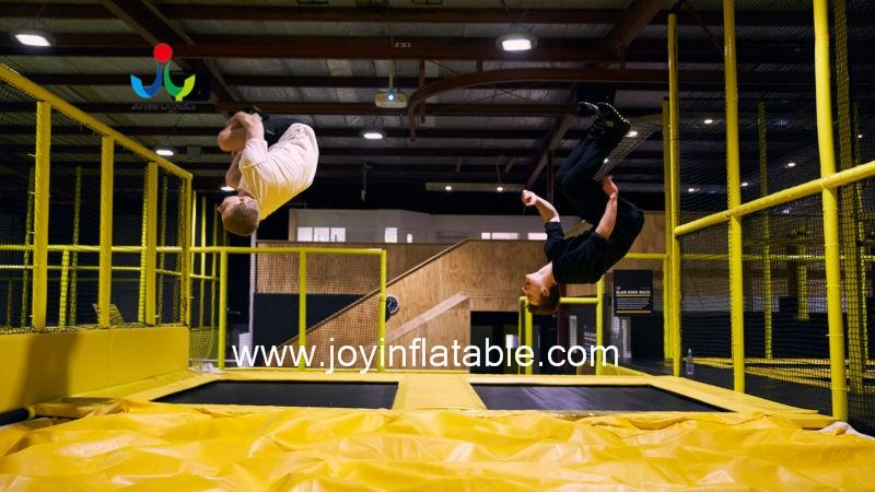 snowboard foam freefall bag jump tumbling JOY inflatable