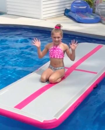 JOY inflatable irregular acrobag customized for outdoor