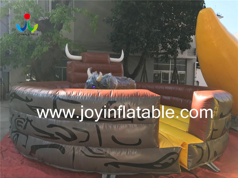 Inflatable BulI Bucking Bronco Video
