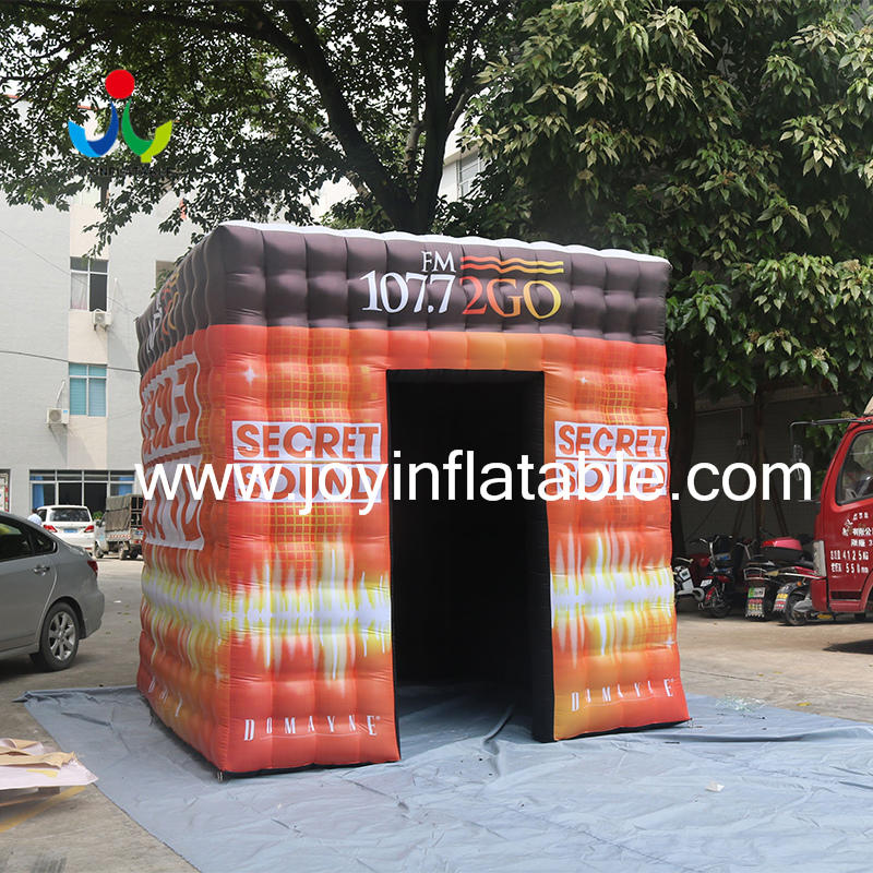 Self Inflating Cube tent