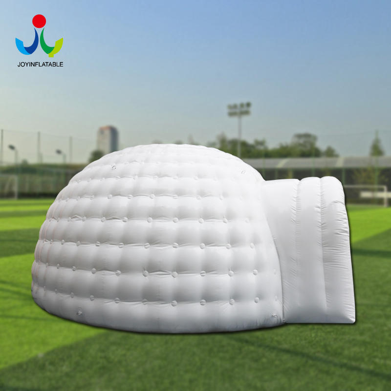 Inflatable waterproof dome  tent