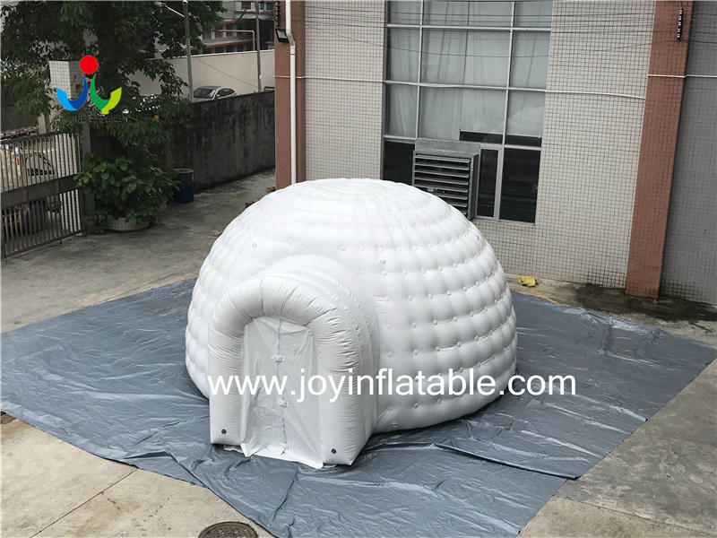 Inflatable waterproof dome  tent  Video