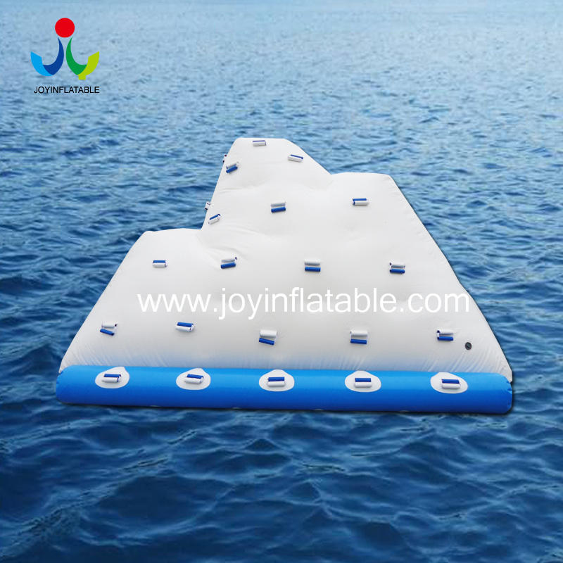 Inflatable Floating Iceberg Climbing Wall  Water Toy