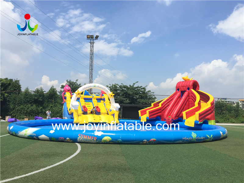JOY inflatable inflatable city wholesale for child-4