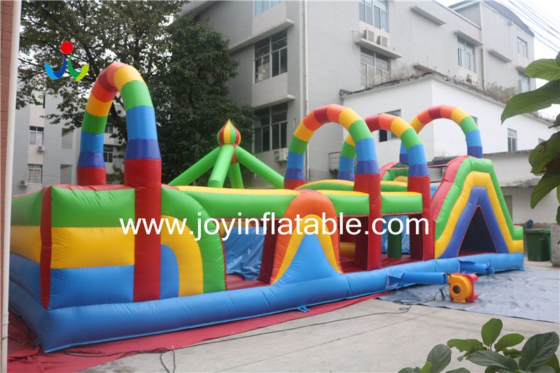 Inflatable Fun City Mix with Maze and Obstacle-4