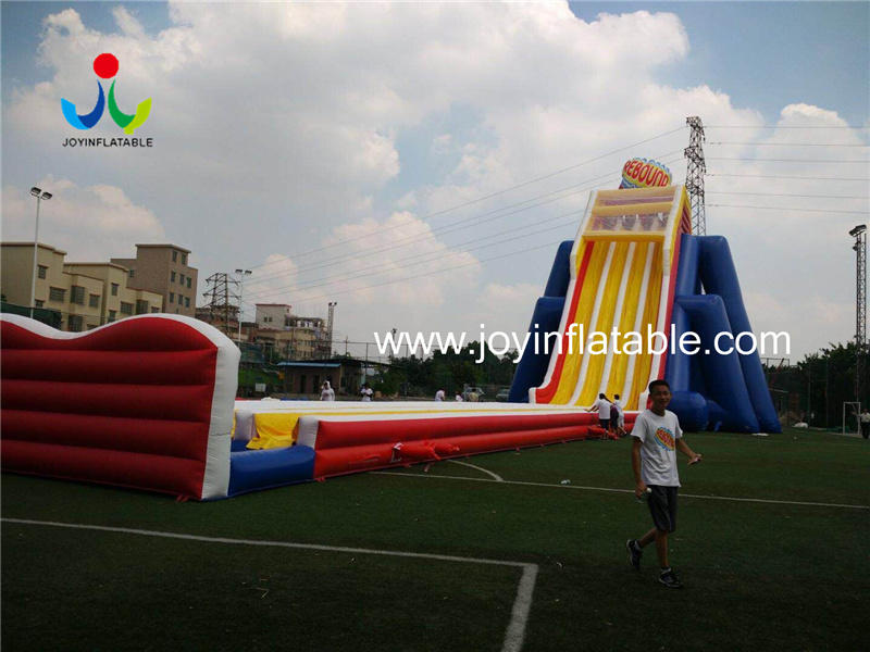 Giant  Size Outdoor Playground Inflatable Water Slides For Adults