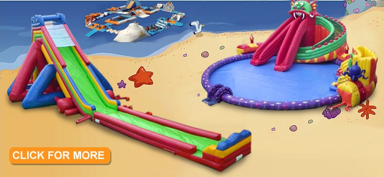 durable inflatable water slide customized for child-2