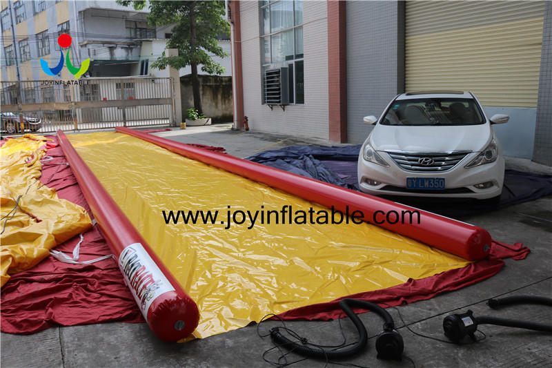 Custom dock inflatable water slide beach JOY inflatable