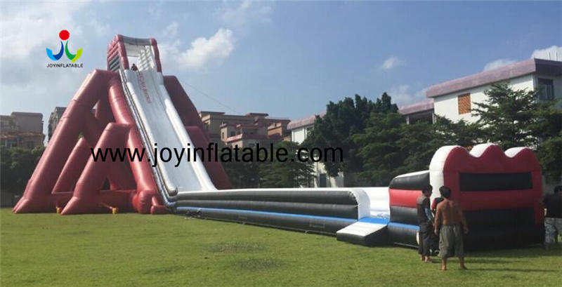 60m Long Giant Inflatable Slide Commercial Durable Inflatable Water Slide Beach Slip N Slide for Amusement Park